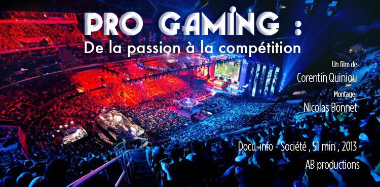 Pro-Gaming :   de la passion à la compétition